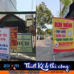 Thi công standee tại Đà Nẵng