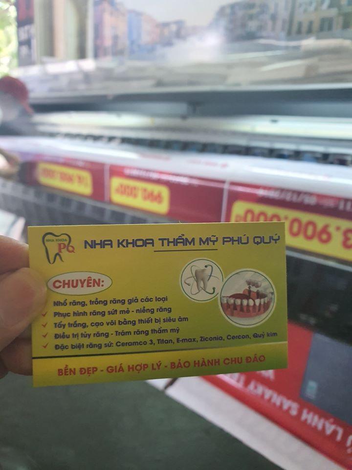 Thiết kế in name card đẹp ở Đà Nẵng