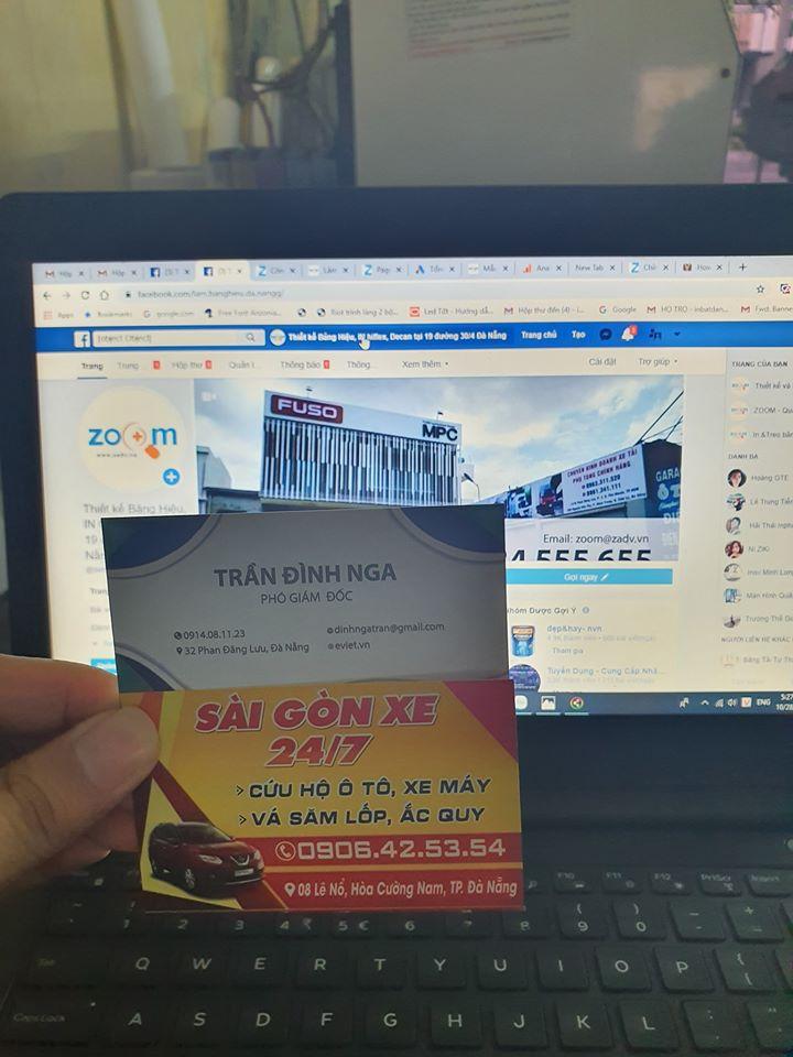 In name card số lượng lớn giá rẻ tại Đà Nẵng