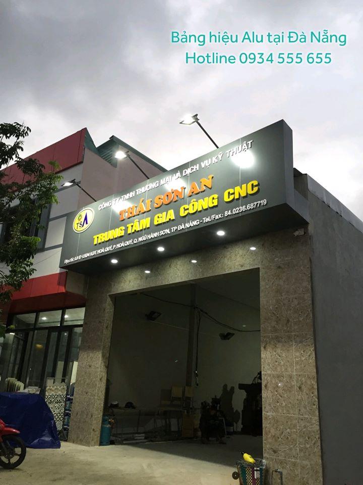 bảng hiệu alu tại Đà Nẵng thi công quảng cáo tại Đà Nẵng giá rẻ chuyên nghiệp