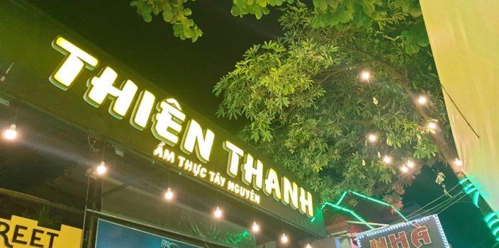 Làm bảng hiệu quán ăn tại Đà Nẵng
