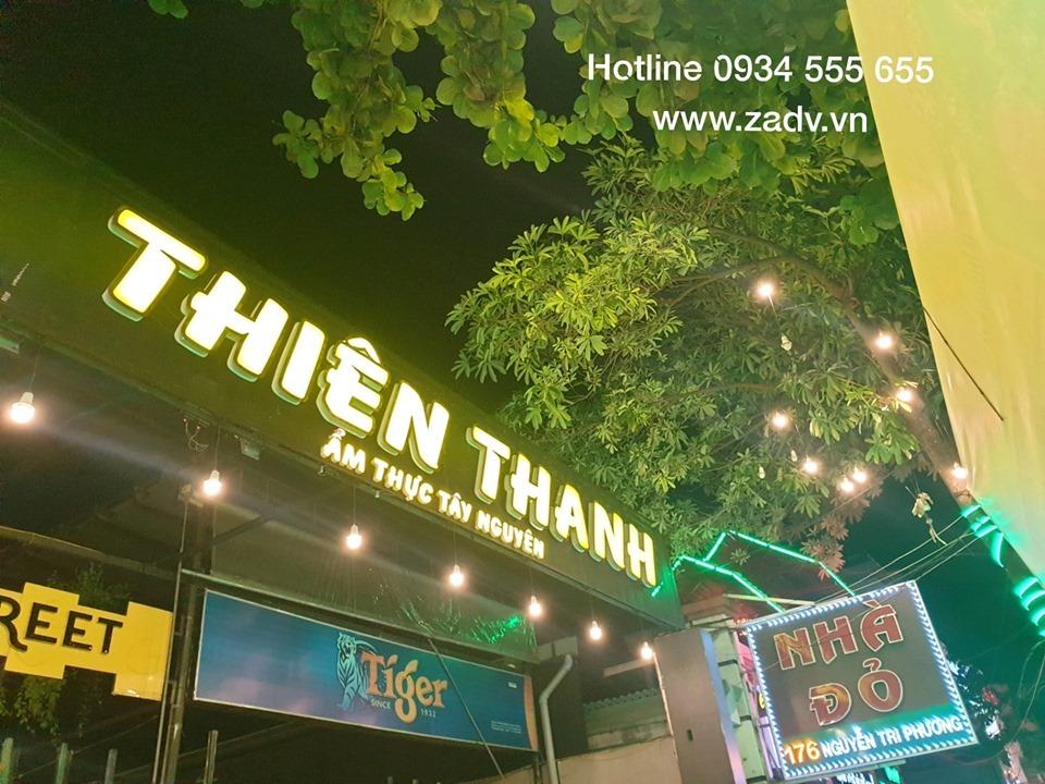 Làm chữ mica nổi giá rẻ ở Đà Nẵng