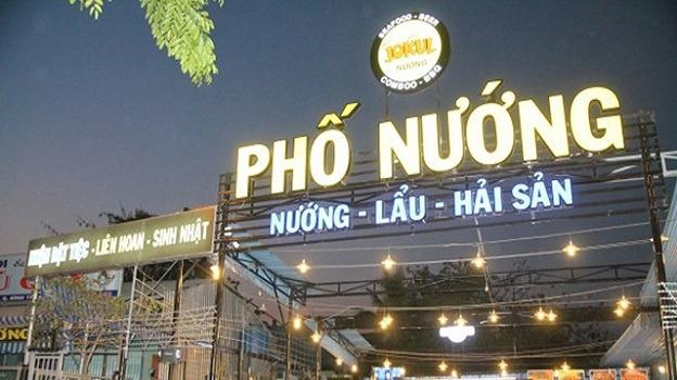 Chữ mica nổi tại Đà Nẵng