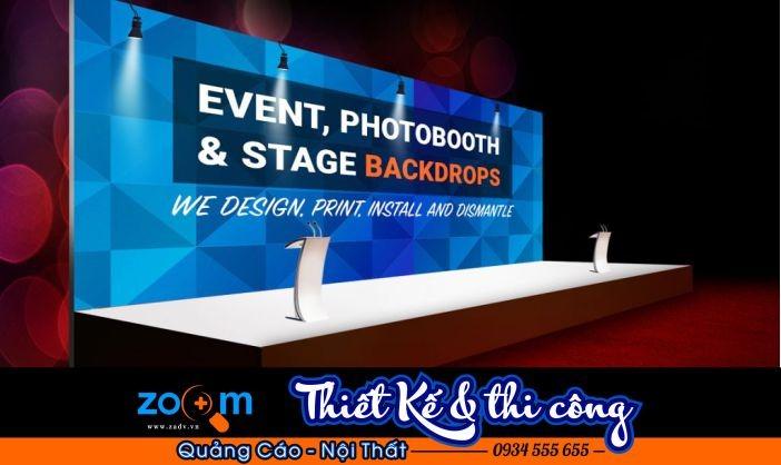 Thiết kế in backdrop da nang