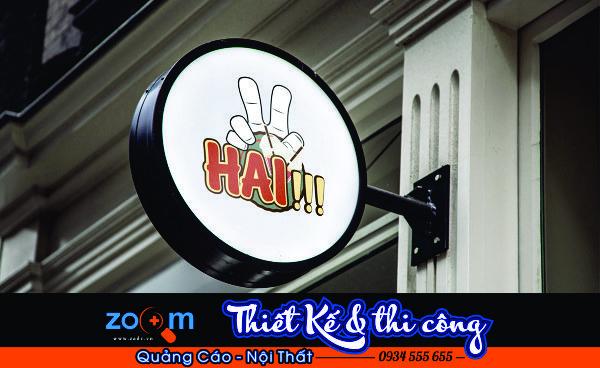 bảng giá bảng hiệu hộp đèn mới nhất tại Đà Nẵng