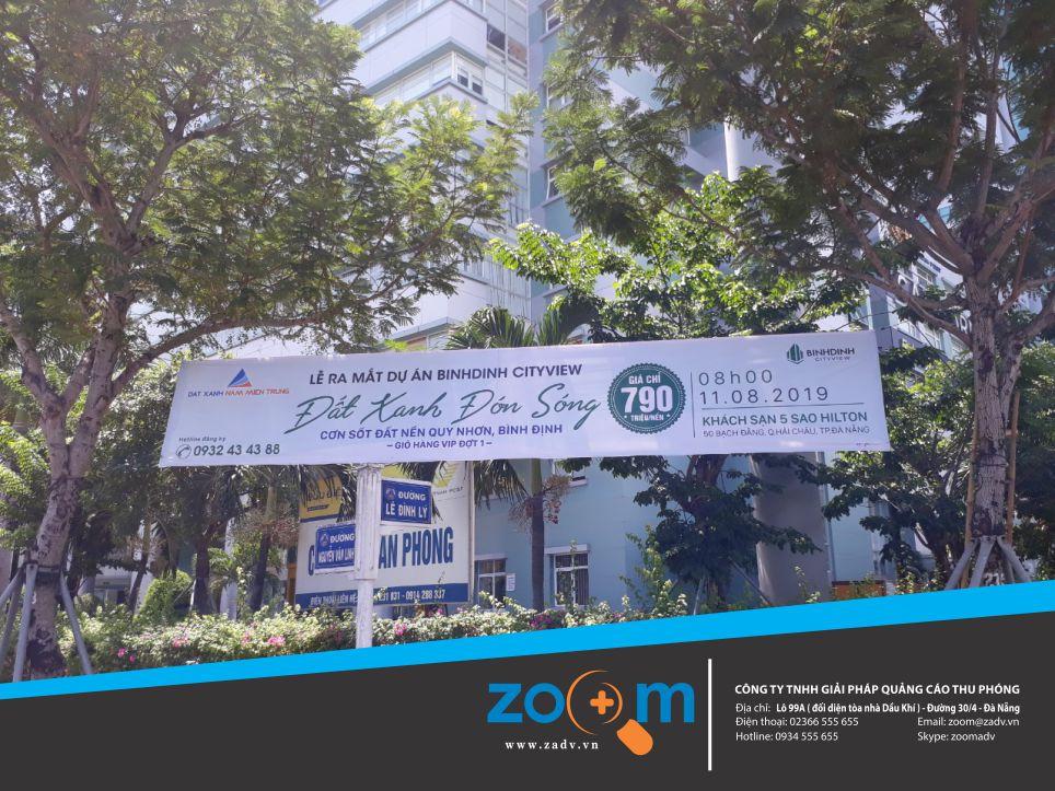Dịch vụ xin phép treo banner tại Đà Nẵng