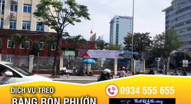 Dịch vụ xin phép treo băng rôn tại Đà Nẵng