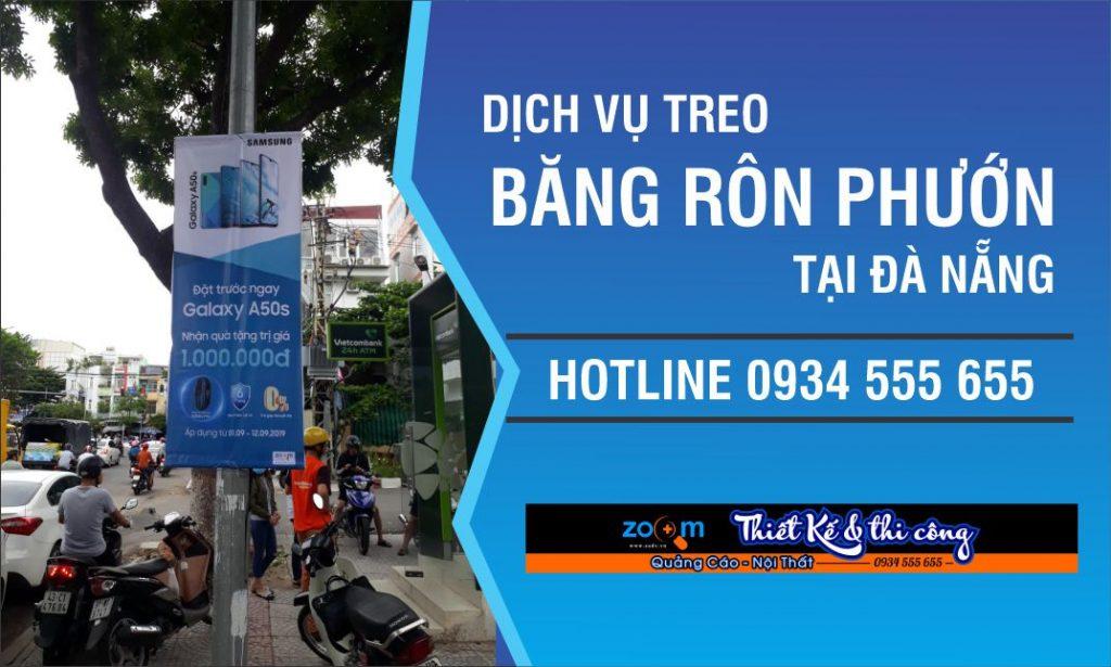 Xin phép treo băng rôn phướn tại Đà Nẵng