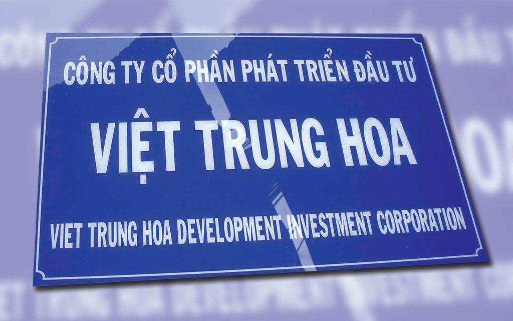 Làm bảng hiệu mica mặt tiền ở Đà Nẵng