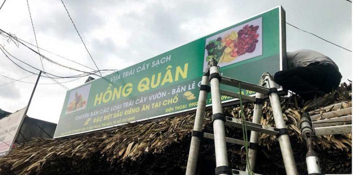 Báo giá bảng hiệu hiflex tại Đà Nẵng