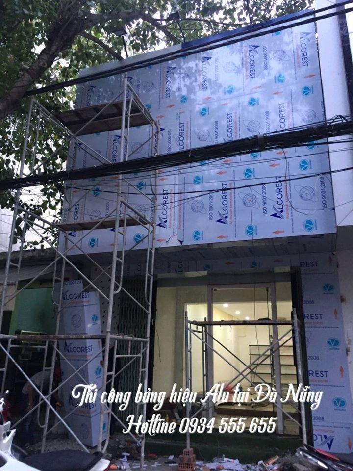 Báo giá bảng hiệu alu mới nhất tại Đà Nẵng