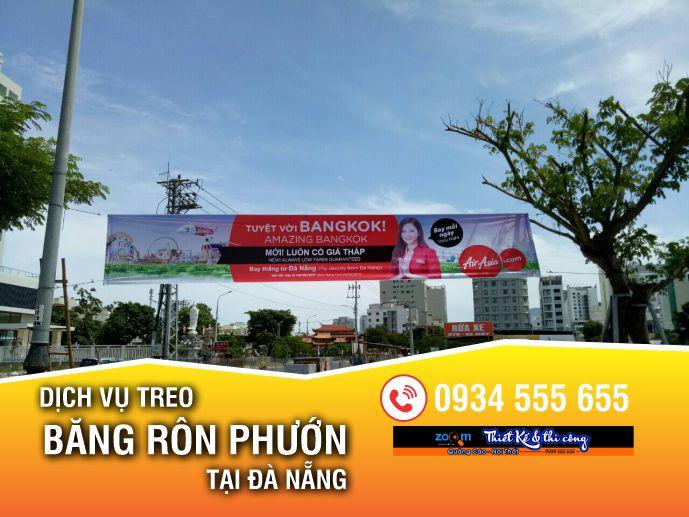 In treo băng rôn giá rẻ tại Đà Nẵng