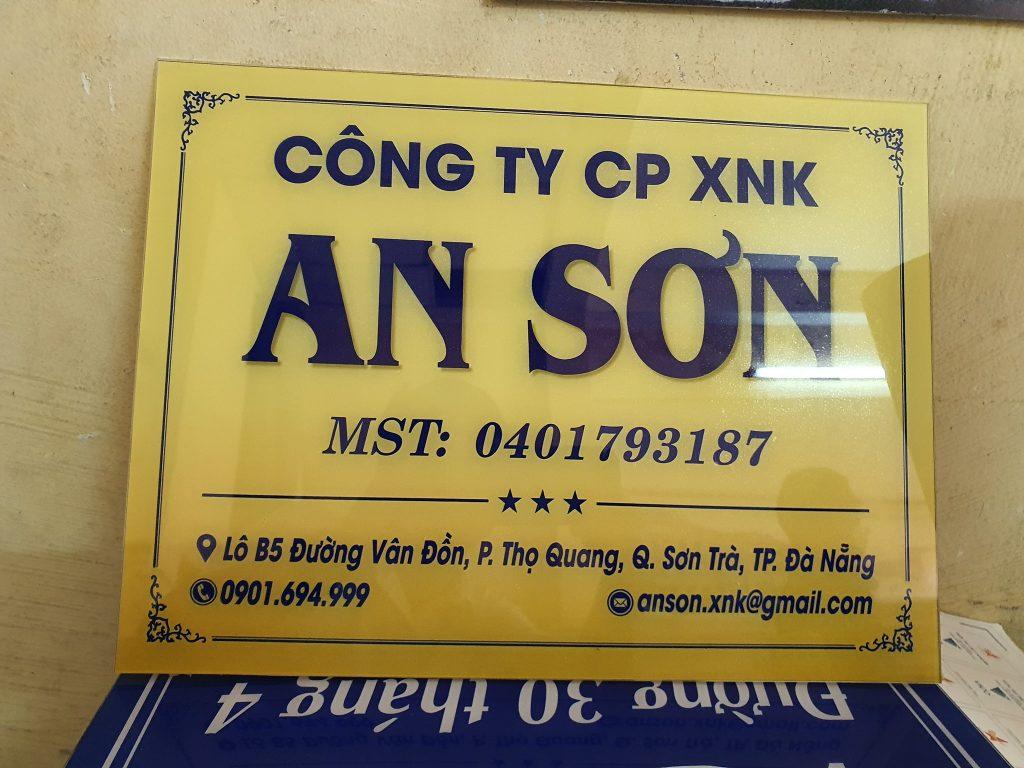 Làm bảng hiệu giá rẻ ở Đà Nẵng
