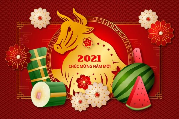 In quảng cáo tiệc tất niên ở Đà Nẵng